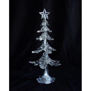 Kerstboom acryl met verlichting