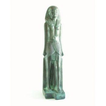 Egyptische Koning antiek groen 30cm