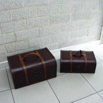 Kisten set 2-dlg 36x26x17cm 31x21x12cm