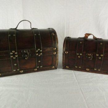Koffer set 2-delig 33x22x24cmH 28x17x19cmH
