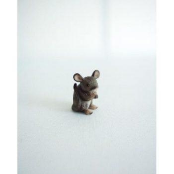 Muis zittend klein 4cmH