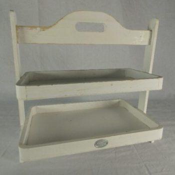 Etagère hout whitewash 39x26x37cmH