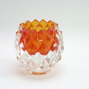 Sfeerlicht ananas oranje 7cmH
