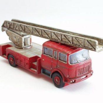 Brandweerwagen met ladder 21cmLx7.5cmH