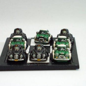 Boter kaas eieren Mini-Taxi 11.5x11.5cm